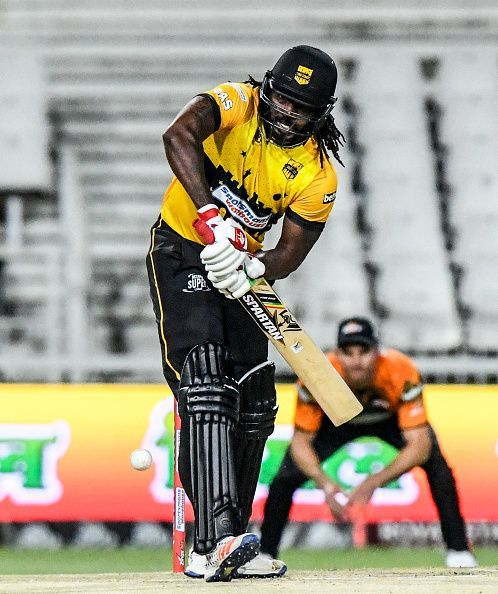 Chris Gayle in the Mzansi Super League