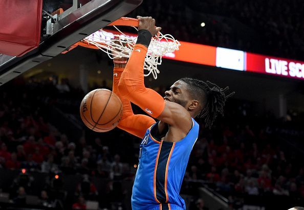 Nerlens Noel has impressed from the OKC bench