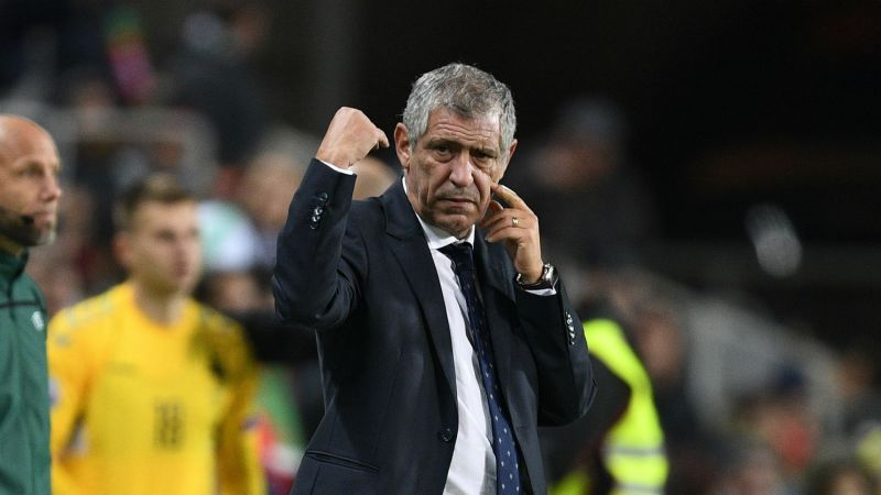 France Portugal Euro 2020 Calendrier.Fernando Santos Portugal A Candidate Not Favourites For