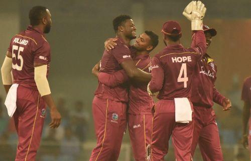 वेस्टइंडीज ने पहले वनडे में जीत हासिल की (Photo: Afghanistan Cricket Twitter)