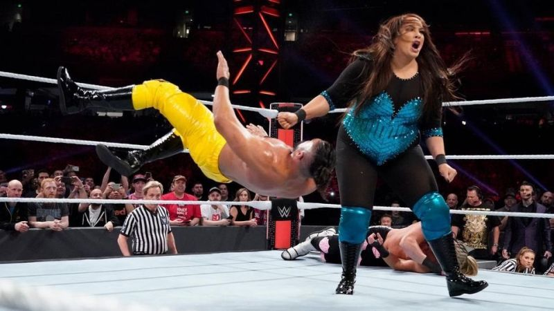 Remember when WWE experimented with intergender wrestling earlier this year?