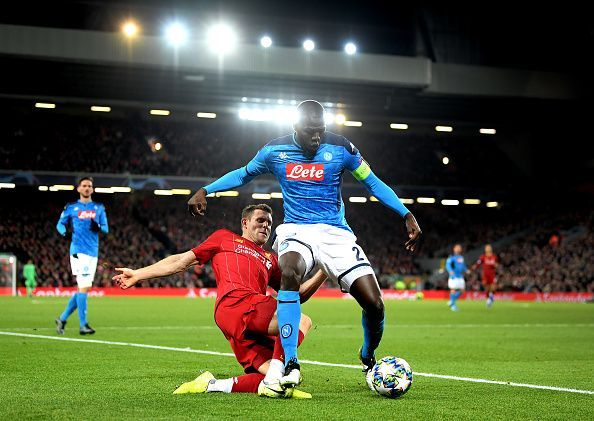 Koulibaly had another solid outing in a big game