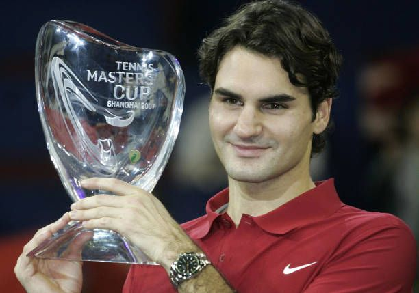 Federer lifts his 4th ATP Finals title at 2007 Shanghai