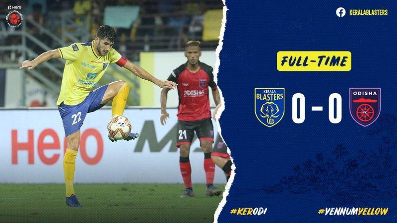 Kerala Blasters and Odisha FC