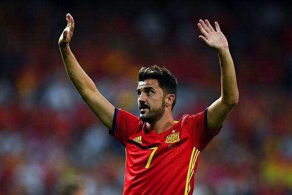 David Villa has announced his retirement at the age of 37.