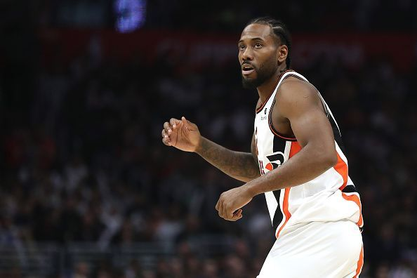 Kawhi Leonard is one of the top three two-way players in the league