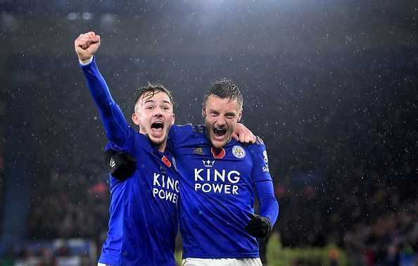 Leicester City defeated Arsenal 2-0 before the international break.