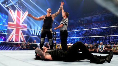 Baron Corbin defeated Roman Reigns after an exciting main event