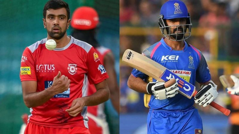 R Aswin and A Rahane were among the big names who were traded during the transfer window