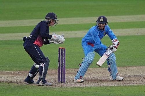 Shubman Gill (right) scored 143 runs.