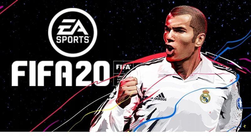 Zinedine Zidane FIFA 20 cover