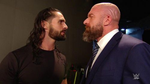 Seth Rollins and Triple H have a lot of history