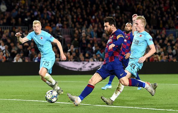 Lionel Messi and Co could not get the three points