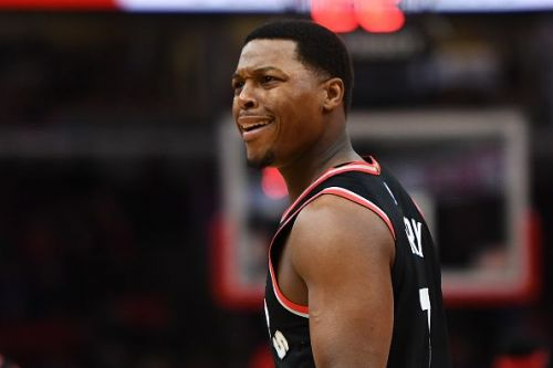 Action from Toronto Raptors v Chicago Bulls game