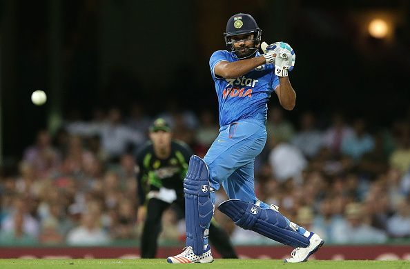 Rohit Sharma is to become the first Indian men