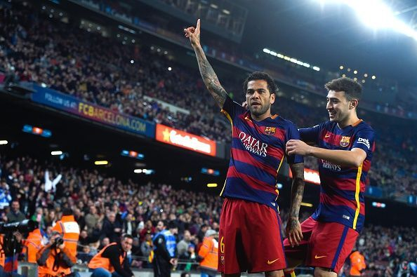 One of the best of this generation, Dani Alves is a Barcelona legend