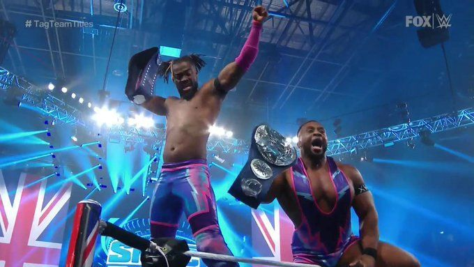 The New Day picked up a win against The Revival
