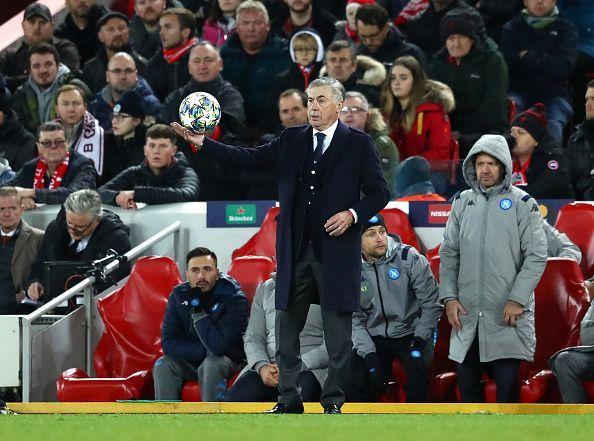 Liverpool FC v SSC Napoli: Group E - UEFA Champions League Liverpool FC v SSC Napoli: Group E - UEFA Champions League Enter caption