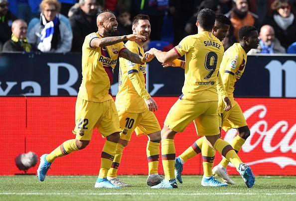 Vidal netted the eventual winner