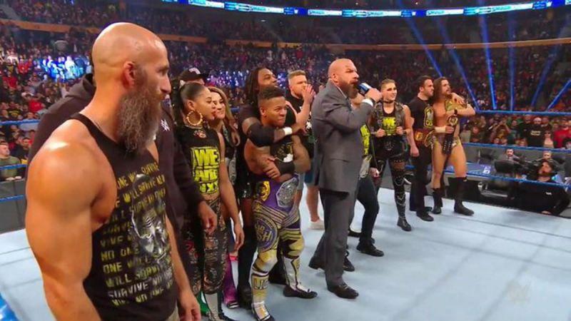 स्मैकडाउन में NXT सुपरस्टार्स