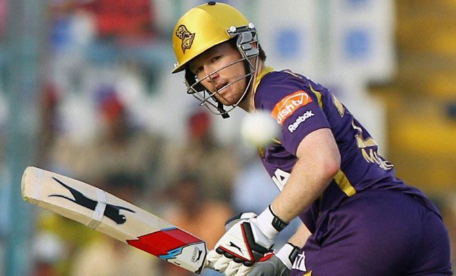 Eoin Morgan previously represented KKR for three seasons.