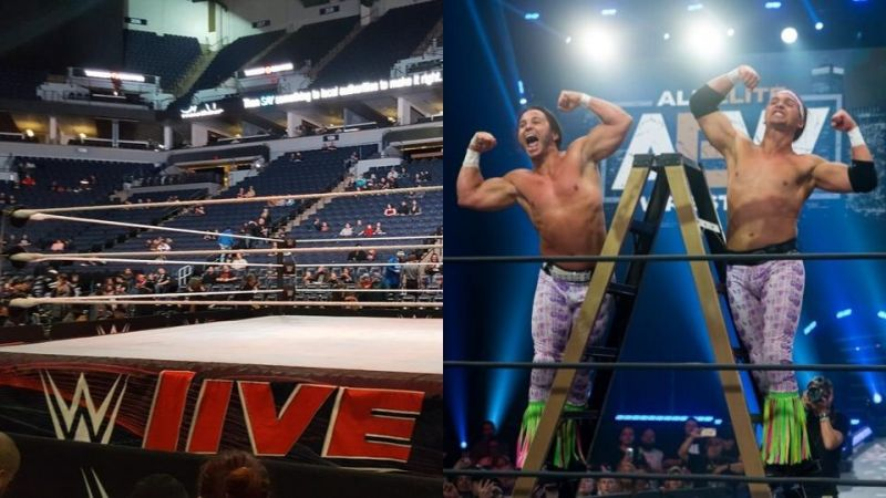 The Revival paid tribute to The Young Bucks at a live event