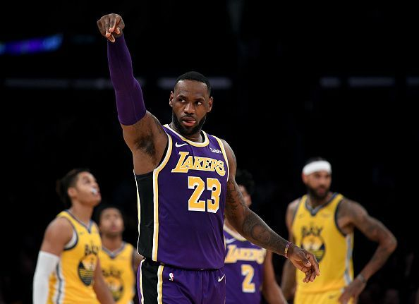The Los Angeles Lakers have been the best defensive team in the league