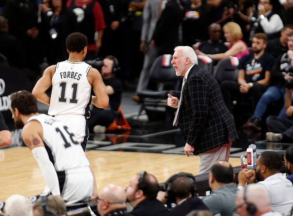 Forbes continues to develop his game under Gregg Popovich