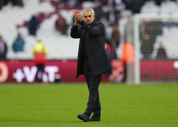 Jose Mourinho got off to a winning start at Tottenham with a 2-3 win over West Ham