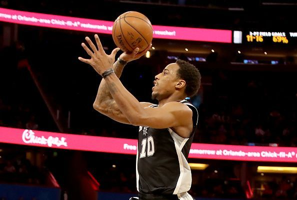 DeMar DeRozan has been linked with a trade away from the San Antonio Spurs