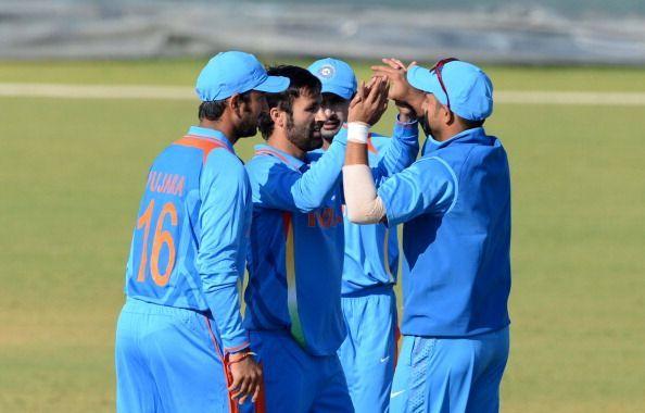 Parvez Rasool bowled a tidy spell