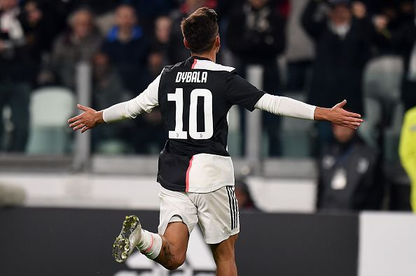 A moment of brilliance for Dybala saw them going past Milan