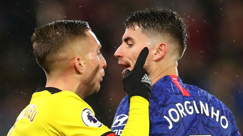 Gerard Deulofeu and Jorginho