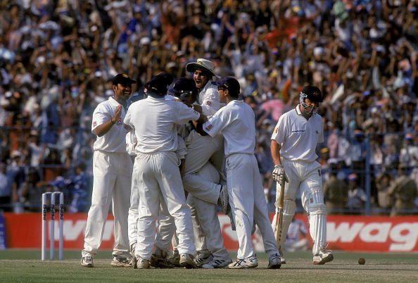 The famous 2001 India vs Australia Test at Eden Gardens