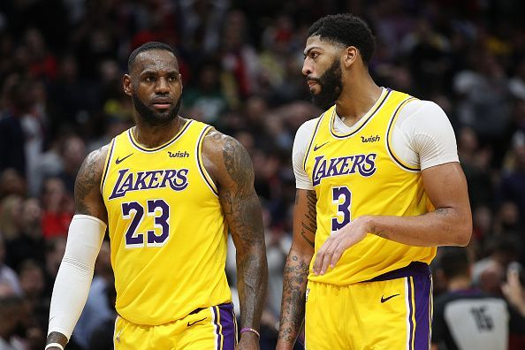 LeBron James and Anthony Davis have been in formidable form for the Los Angeles Lakers