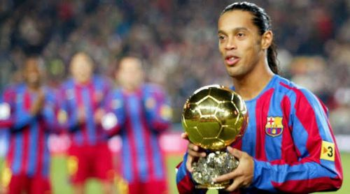 Ronaldinho is one of the greatest in history.