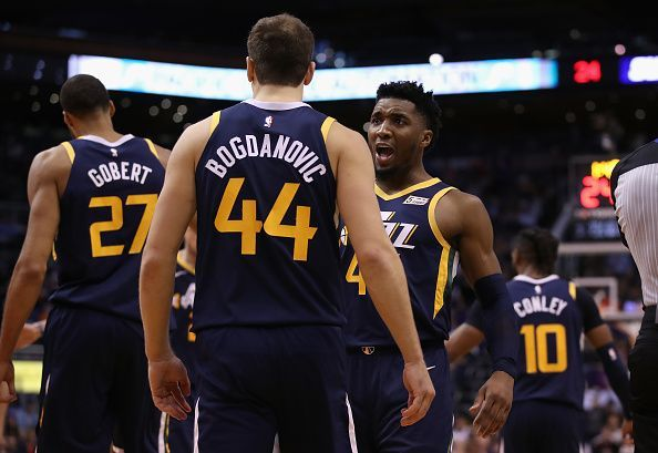 The Jazz picked up impressive wins over the Sixers and Bucks