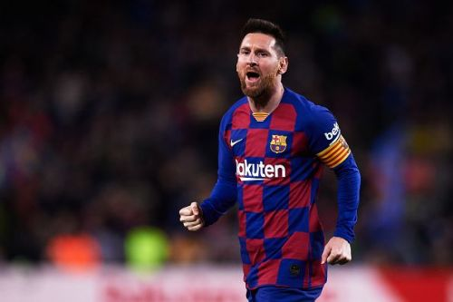 Messi scored a hat-trick in the game
