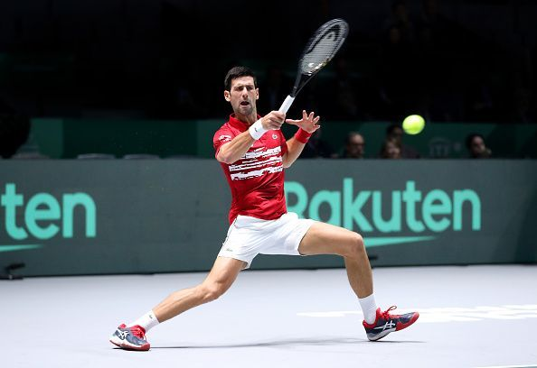 Novak Djokovic from Team Serbia