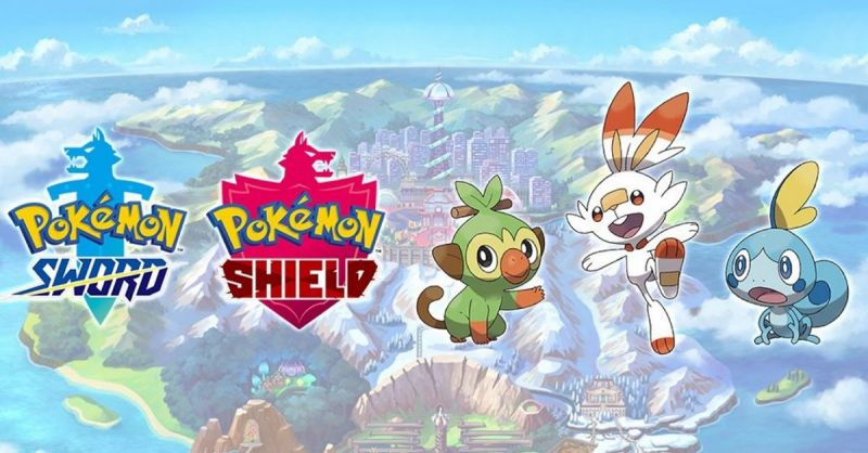 Pokemon Sword and Shield released earlier today