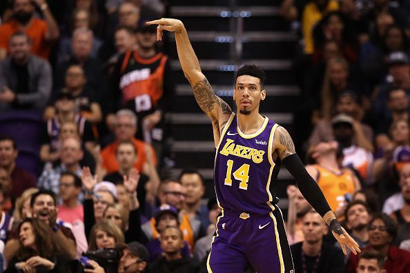 Danny Green joined the Los Angeles Lakers after helping the Raptors to the 2019 title
