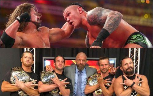 रॉ, स्मैकडाउन और NXT