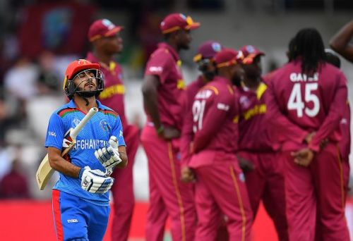 Afghanistan lost the match by 7 wickets