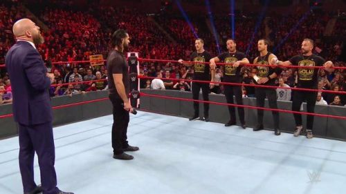 Seth Rollins was faced with a difficult decision