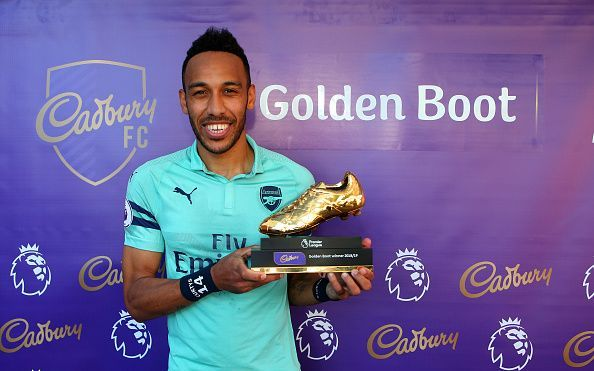 Pierre Emerick-Aubameyang scored 22 goals last season