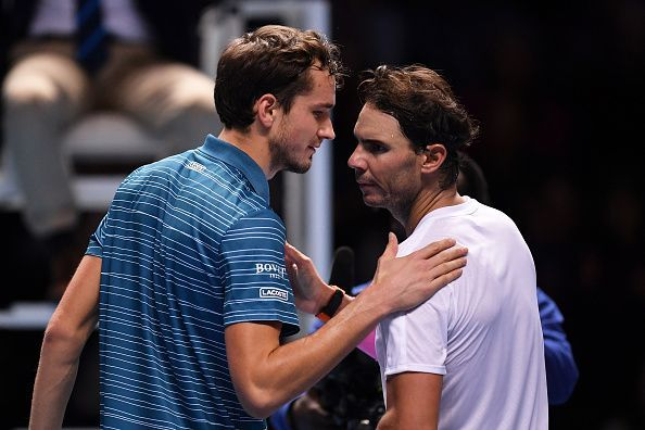 Rafael Nadal achieved a staggering comeback to beat Medvedev