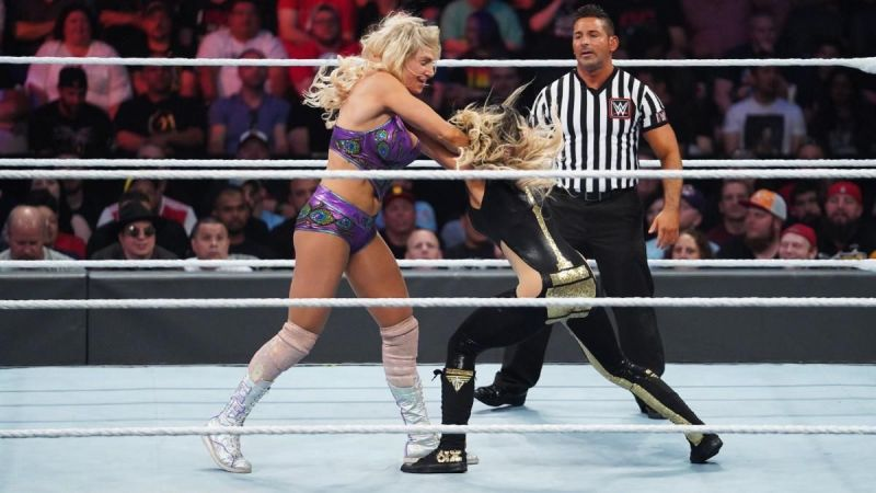Trish Stratus retired after facing Charlotte Flair