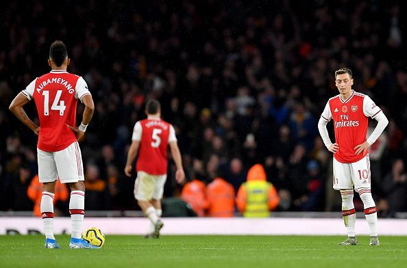 Arsenal again dropped points at home