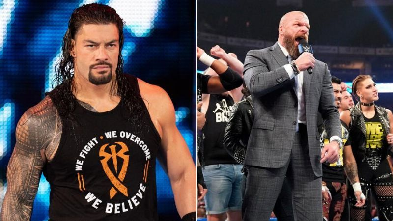 Roman Reigns was not present for the NXT invasion