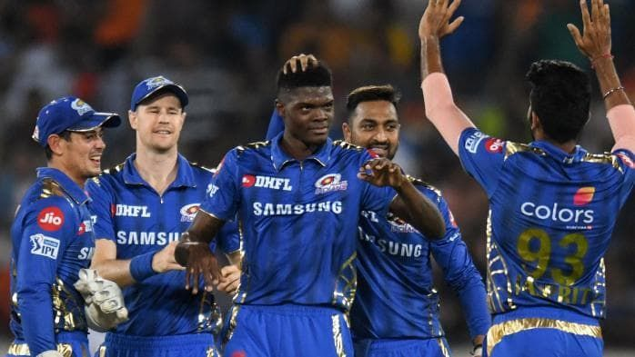 Alzarri Joseph produced the best figures in IPL history on his debut earlier this year. (Image Courtesy: AFP)